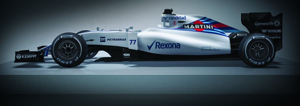 Williams F1 2015 Web Pod